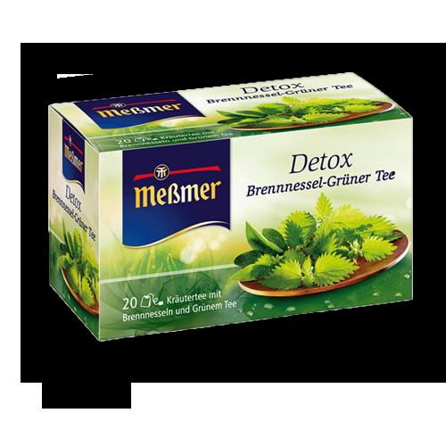 Meßmer Detox Brennnessel-Grüner-Tee 20er