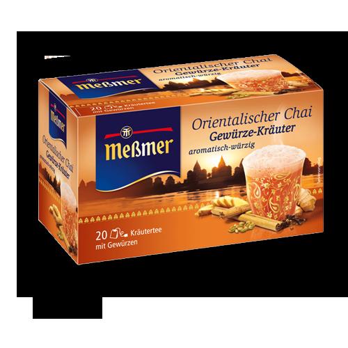 Meßmer Orientalischer-Chai-Gewürze-Kräuter 20er