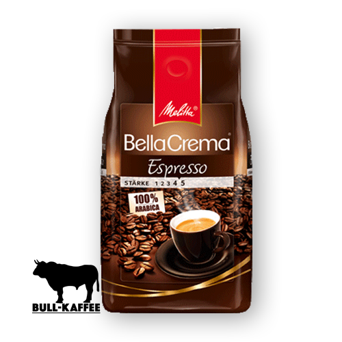 Melitta Bella-Crema-Espresso ganze Bohne 1kg