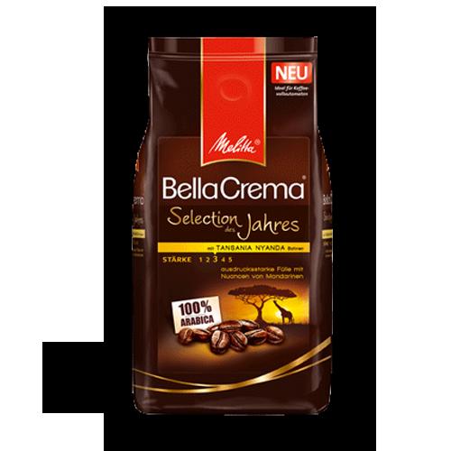 Melitta Bella-Crema-Selection-des-Jahres ganze Bohne 1kg