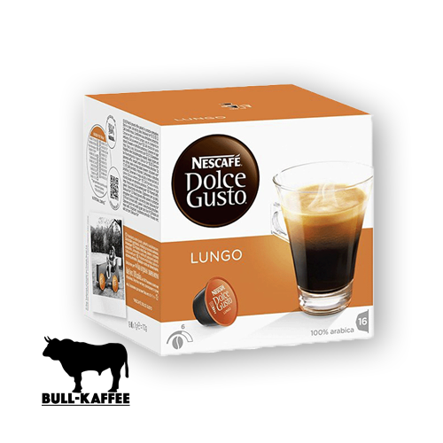 nescaf dolce gusto lungo 16 kapseln bull kaffee und tee onlineshop hamburg. Black Bedroom Furniture Sets. Home Design Ideas