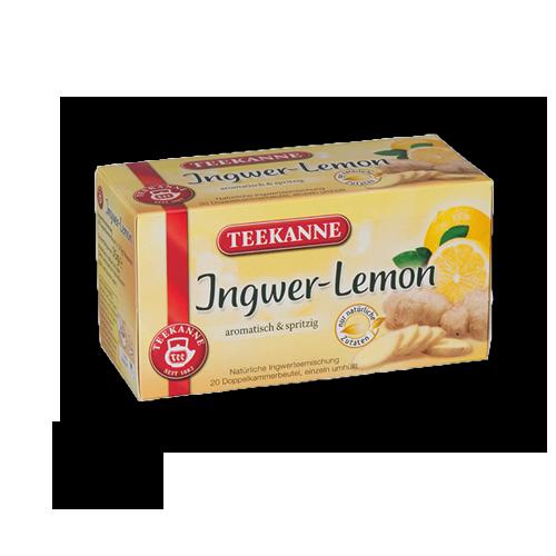 TEEKANNE Ingwer-Lemon 20er