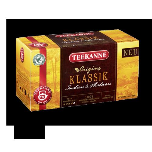 TEEKANNE Klassik Schwarzer Tee 20er
