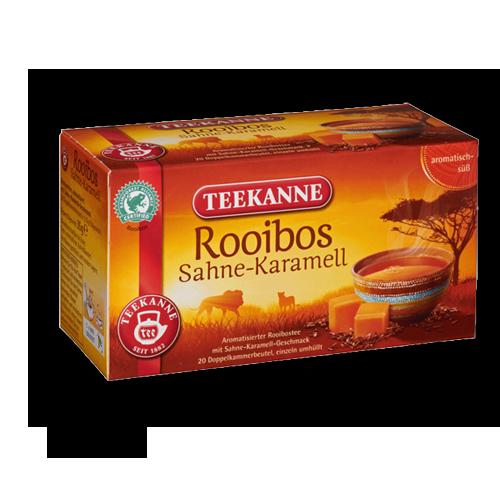 TEEKANNE Rooibos Sahne-Karamell 20er