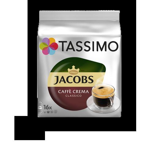 Tassimo Jacobs Caffè Crema Classico Kapseln