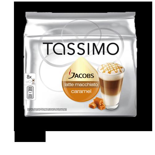 Tassimo Jacobs Latte Macchiato Caramel Kapseln