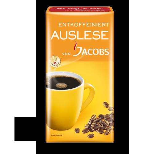 Jacobs Auslese entkoffeiniert 500g