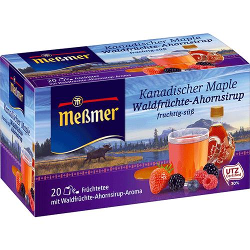 Meßmer Kanadischer-Maple-Waldfrüchte Ahornsirup 20er